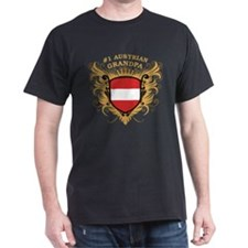 Number One Austrian Grandpa T-Shirt