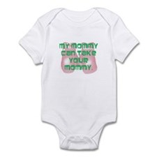 Boxing mommy Onesie