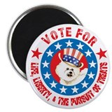 "Vote for Bichon 2.25"" Magnet (10 pack)"
