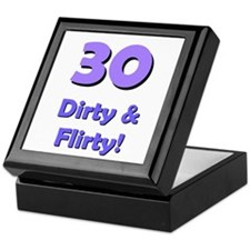 30 dirty and flirty Keepsake Box