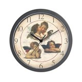 Cherubs Wall Clock