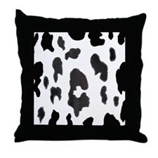 COW PRINT Throw Pillow
