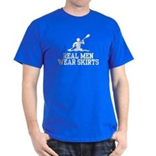 Real Men Wear Skirts T-Shirt