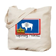 Wyoming Princess Tote Bag