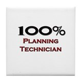 100 Percent Planning Technician Tile Coaster