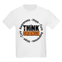 Think Orange Leukemia Kids Light T-Shirt