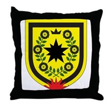 Queen of Ansteorra Throne Pillow