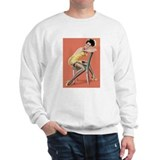 Girl With Chair Sweatshirt