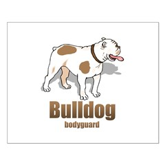 Bulldog bodyguard Small Poster