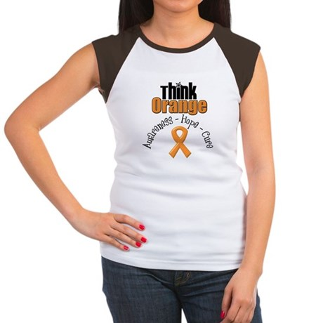 Think Orange Hope Women's Cap Sleeve T-Shirt