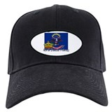 North Dakota Princess Baseball Hat