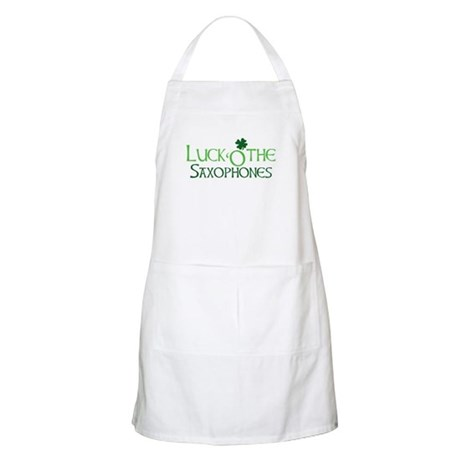 Luck 'O the Saxophones BBQ Apron