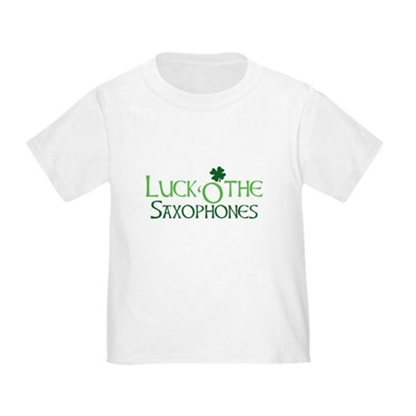 Luck 'O the Saxophones Toddler T-Shirt