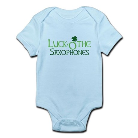 Luck 'O the Saxophones Infant Bodysuit