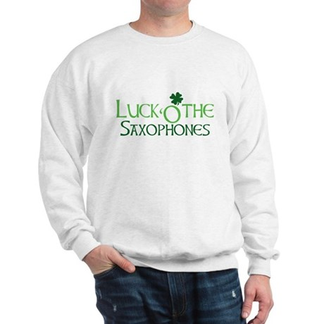 Luck 'O the Saxophones Sweatshirt