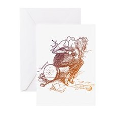 Tangled Knitter Greeting Cards (Pk of 10)