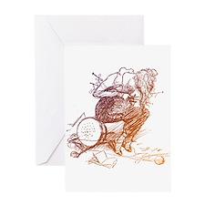 Tangled Knitter Greeting Card