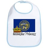 Nebraska Princess Bib