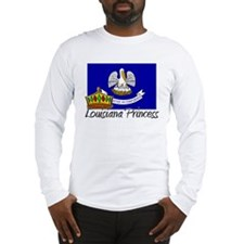 Louisiana Princess Long Sleeve T-Shirt