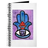 Double Eye Hamsa Art Journal