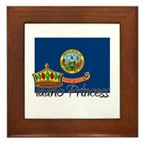 Idaho Princess Framed Tile