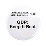 "Cute Economics 3.5"" Button (100 pack)"