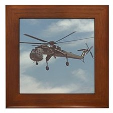 Sky Crane Framed Tile