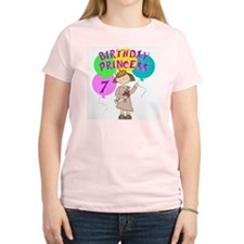 Birthday Princess 7th Birthday T-Shirt