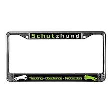 GSD - Pro Schutzhund  License Plate Frame