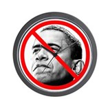 Anti Barack Obama Wall Clock