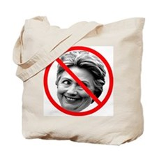 Anti Hillary Clinton Tote Bag