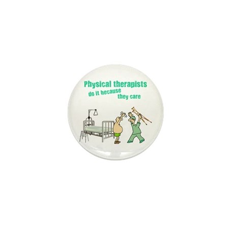 Physical Therapists Mini Button (100 pack)