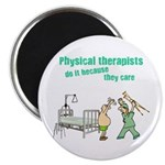 Female Physical Therapist Magnet
