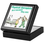 Female Physical Therapist Keepsake Box