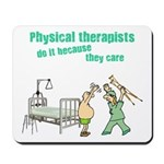 Female Physical Therapist Mousepad