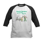 Female Physical Therapist Kids Baseball Jersey