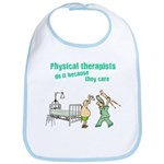 Female Physical Therapist Bib