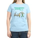 Female Physical Therapist Women's Light T-Shirt