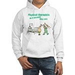 Female Physical Therapist Hooded Sweatshirt