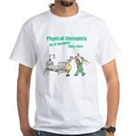 Female Physical Therapist White T-Shirt