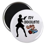 "My Chocolate 2.25"" Magnet (100 pack)"