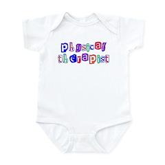 Physical Therapist Colors Infant Bodysuit