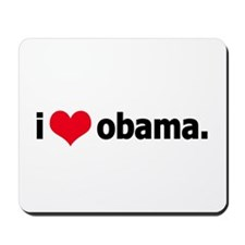 I *heart* Obama Mousepad