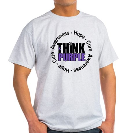 Think Purple Light T-Shirt