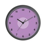 Purple Wall Clock (20B)