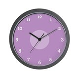 Purple Wall Clock (20W)