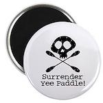Kayaking Pirate Magnet