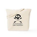 Kayaking Pirate Tote Bag