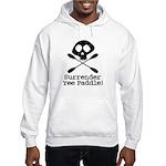 Kayaking Pirate Hooded Sweatshirt