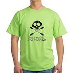 Kayaking Pirate Green T-Shirt